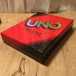 UNO Deluxe  Card Game  for Sale in Gresham, OR