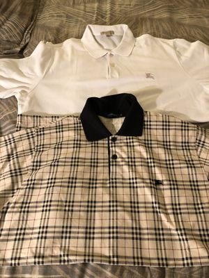 Burberry Polos Men's both sizes XL, good condition. for Sale in Costa Mesa, CA