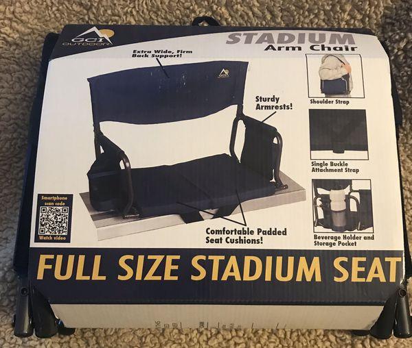GCI Full Size Stadium Seat-Blue