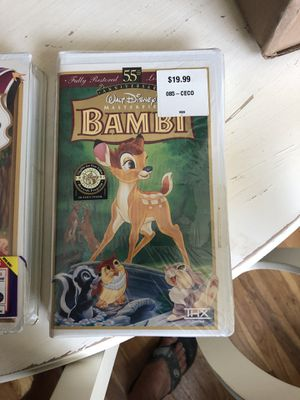 Brand new Disney VHS movies for Sale in Randolph, MA