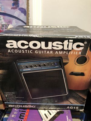 Acoustic guitar amp ag15 for Sale in Freetown, MA