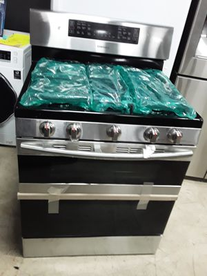 SAMSUNG STAINLESS STEEL DOUBLE OVEN STOVE ENERGY STAR for Sale in Covina, CA