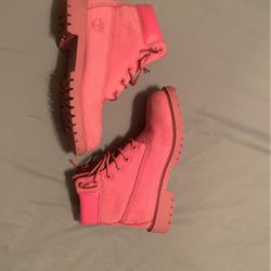 Pink Timberland Boots for Sale in Marietta,  GA