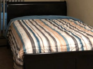 $230 Queen size bed. Include headboard and footboard, Euro Top Mattress & Box Spring. Other household items for sale listed below in the description for Sale in Robbinsdale, MN