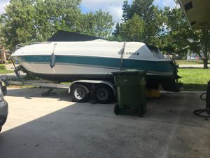 Boat and trailer four winns for Sale in Palm Springs, FL