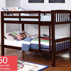 $450 Brand New Twin/twin Bunk Beds With Mattress for Sale in Long Beach, CA
