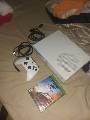 Xbox one s with forza 4 titanfall for Sale in Hyattsville, MD