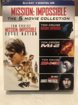 Mission Impossible Collection on Blu-ray for Sale in Tampa, FL