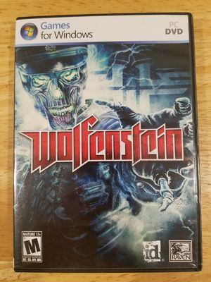 WOLFSTEIN FOR WINDOWS PC for Sale in San Francisco, CA
