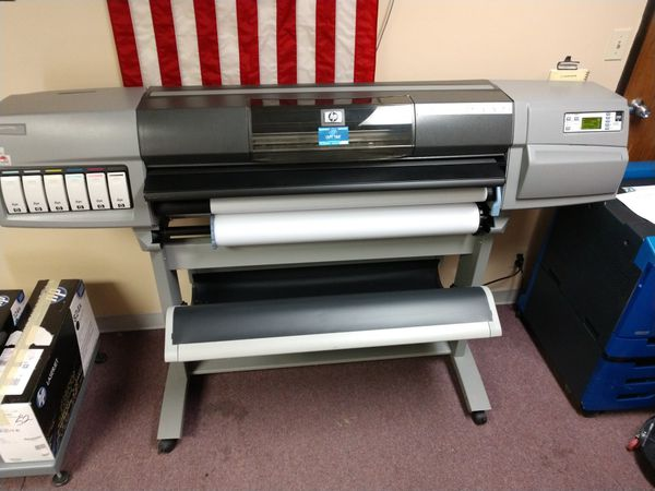 "Mint Condition HP 5500PS 42"" Plotter."