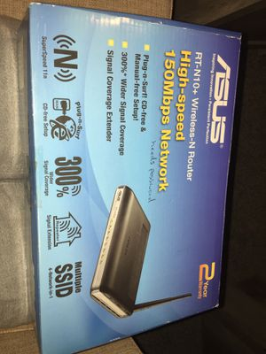 ASUS WIFI ROUTER for Sale in Rowlett, TX