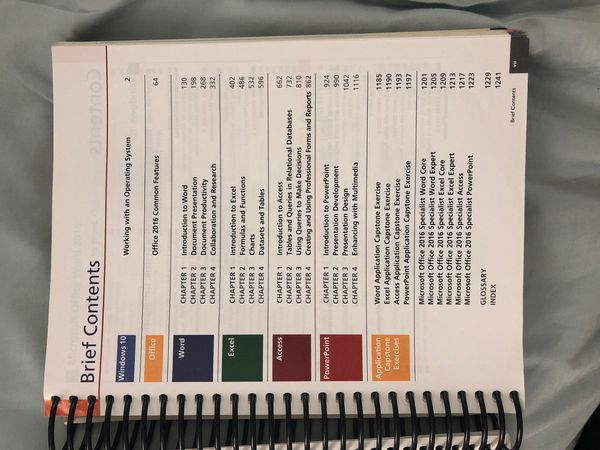 Pearson's myLab Microsoft Office 2016 Volume 1