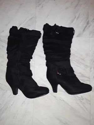 Brand new women suede dress boots and pair of heels for Sale in Chicago, IL