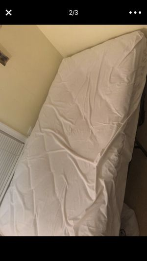 Twin bed frame and mattress for Sale in Fairfax, VA