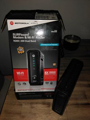 Motorola SURFboard Modem & Router SBG6580 for Sale in Los Angeles, CA