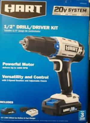 HART 1/2 DRILL/DRIVER SYSTEM for Sale in Nashville, TN