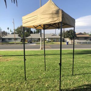 New In Box 5x5 Tan Canopy Tent for Sale in Riverside, CA