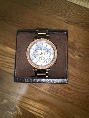 Michael Kors Rose-gold tone and Silver tone Watches for Sale in North Springfield, VA