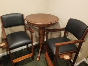 Mohagony Table with 2 chairs for Sale in Denver, CO