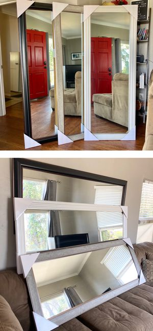 Full Size Mirror (We can Deliver today +$10) for Sale in San Diego, CA