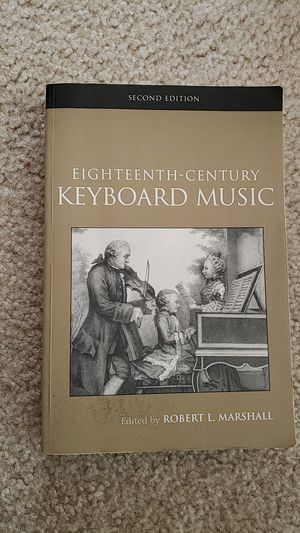 18th Century Keyboard Music for Sale in Warrenton, VA