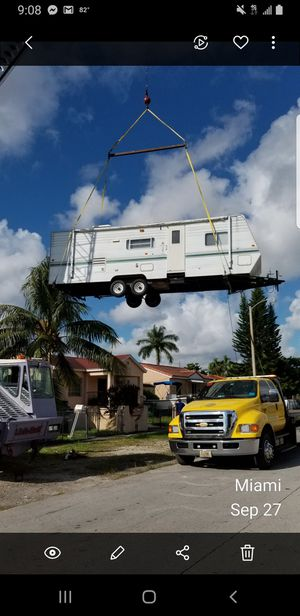 Rv trailer relocation sheds moving for Sale in Miami, FL