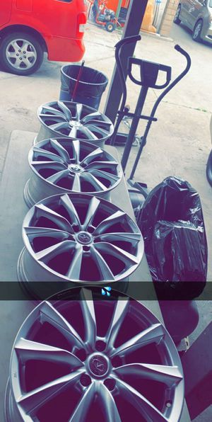 infinity rims no tires for Sale in East Los Angeles, CA