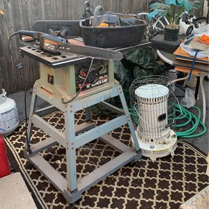 Heater And Table Saw for Sale in Aurora, CO