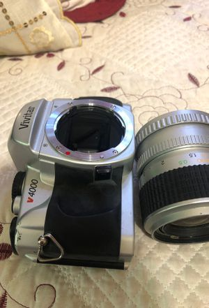 VIVITAR 4000 fully functioning film camera for Sale in Jersey City, NJ