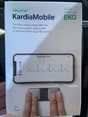 Kardiamobile EKG Heart health at your fingertips for Sale in Grand Prairie, TX