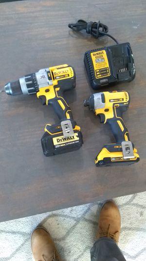 Dewalt XR BRUSHLESS hammer drill & impact 3-speed for Sale in Grand Prairie, TX