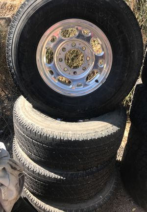 Chevy rims an tires for Sale in Fort McDowell, AZ