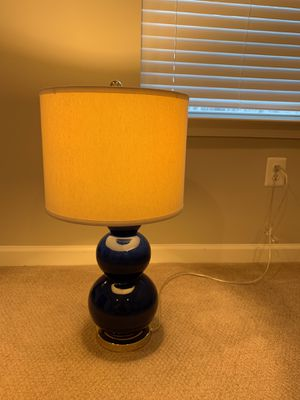Navy Blue Table Lamp for Sale in Severn, MD