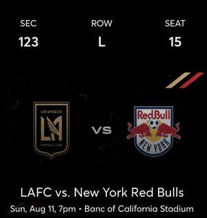 LAFC v NY Red Bulls 08/11 for Sale in Norwalk, CA