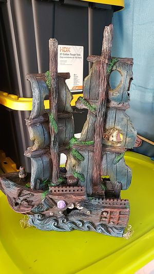 Large pirate ship for aquarium for Sale in Levittown, PA
