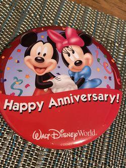 Disney Pin- Happy Anniversary for Sale in West Covina,  CA