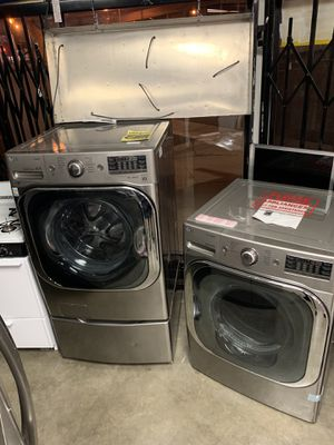 New lg washer and dryer set for Sale in West Carson, CA