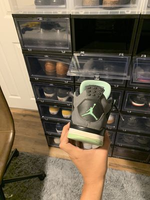jordan 4 green glow for Sale in Woodbridge, VA