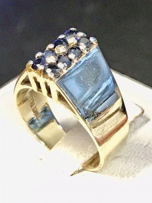 Gold Sapphire ring for Sale in Trenton, MI