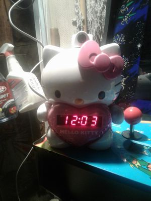Used hello kitty alarm clock for Sale in Norwalk, CA