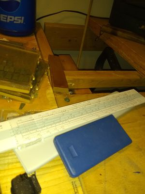Sun bamboo slide rule for Sale in Cardington, OH