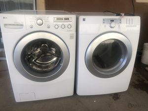 LG washer and gas dryer for Sale in San Marcos, CA