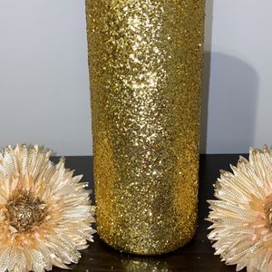 Gold Glam Vase for Sale in Virginia Beach, VA