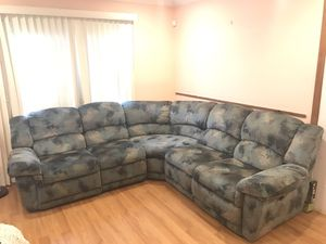 Reclining sectional couch for Sale in Rockville, MD