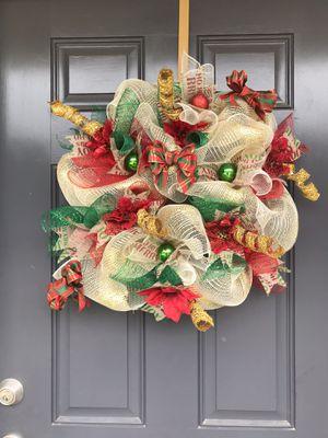 Handmade Christmas Wreath for Sale in Baton Rouge, LA