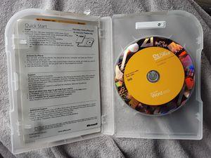 2010 MICROSOFT WORD DVD + PRODUCT KEY CODE for Sale in Renton, WA
