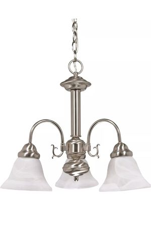 Nuvo 60/3181 Ballerina 3 Light 20 inch Brushed Nickel Chandelier for Sale in Tacoma, WA