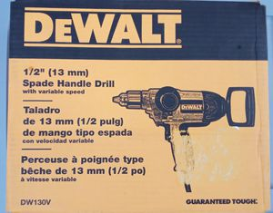 Dewalt Spade Handle Drill for Sale in Knoxville, TN