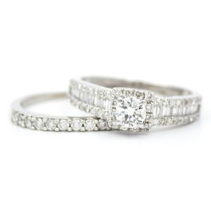 1.5 CTTW Engagement Ring Set for Sale in Atlanta, GA