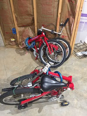 FOLDING BIKE TWO MATCHING BIKES for Sale in Culpeper, VA